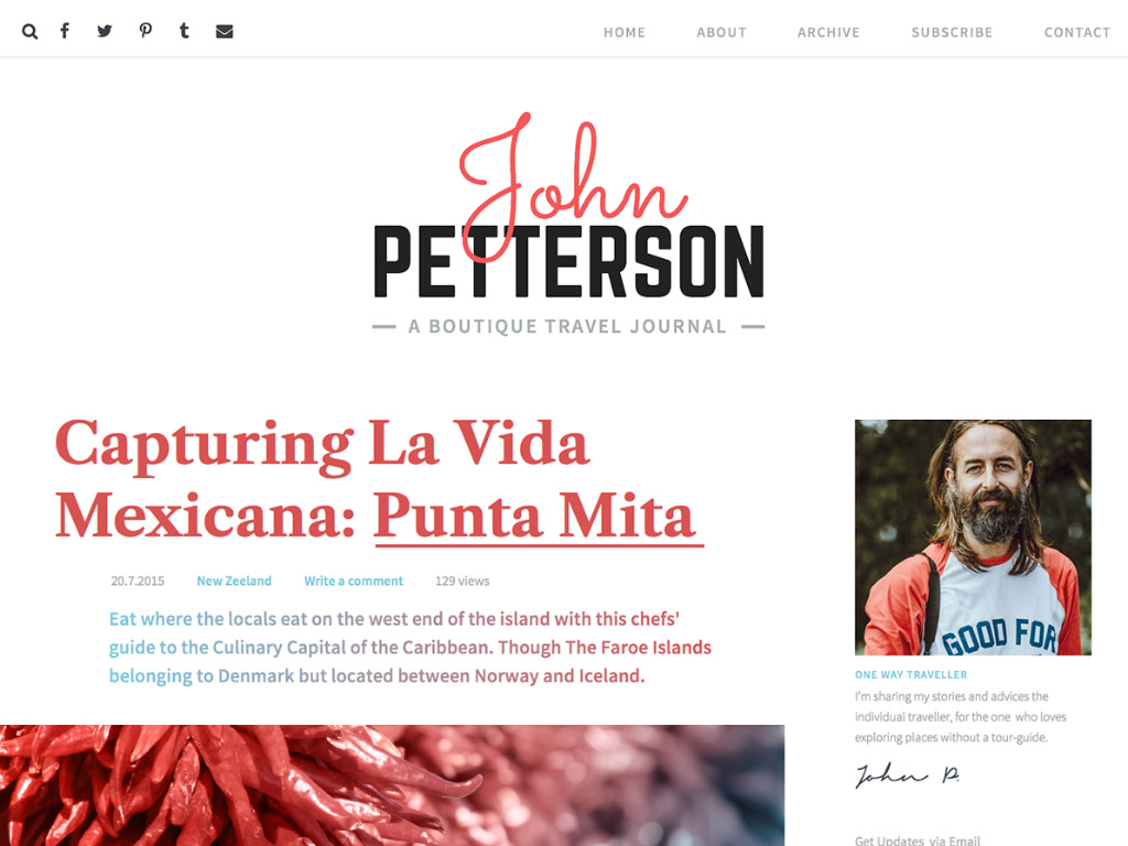Jason WordPress Theme